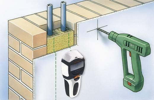 Vezetékkereső, fémkereső, gerendakereső műszer LCD kijelzővel Laserliner MultiFinder Plus 080.965A