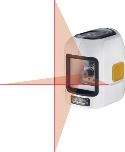 Keresztvonalas lézer, szintező lézer hatótáv (vízszintes, függőleges) 10 m, ± 5 ° SmartCross-Laser Laserliner 081.115A
