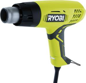 Hőlégfúvó 2000 W 60/600 °C 250/500 l/perc, Ryobi EHG2000 5133001137 Ryobi