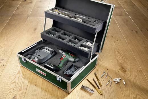 Bosch akkus csavarhúzó + 241 részes tartozék készlet, 14,4 V, 2 x 1.3 Ah litiumion akku 0603954308