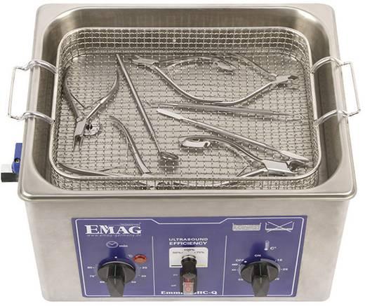 Ultrahangos tisztító, 3,5 l, 250 W, 300 x 240 x 65 mm, rozsdamentes acél, Emag EMMI-35 HC-Q 60086