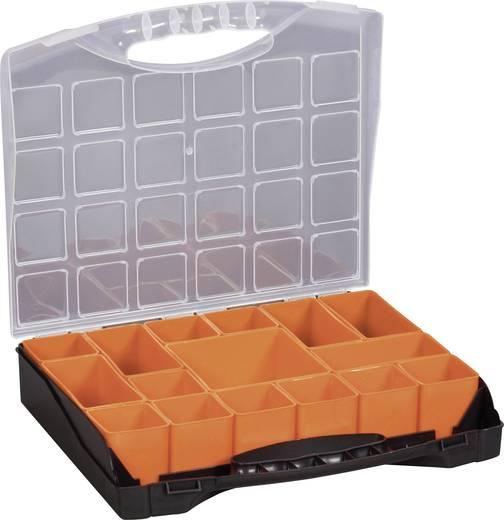 Alkatrésztároló fiókos, szortimentálós koffer, 322x279x297mm Alutec 56100