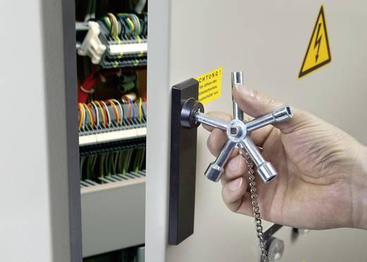 Kapcsolószekrény kulcs, Toolcraft