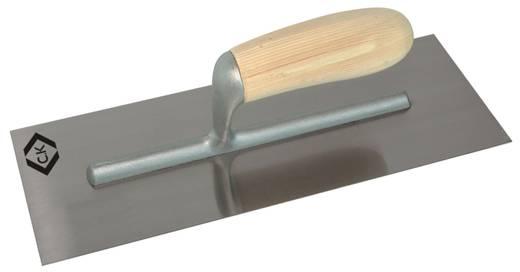 Vakolókanál, nagy, nemesacél, fa nyéllel, 330x120 mm C.K. T5299