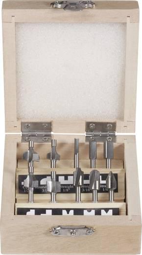 HSS marókészlet 10részes 3,2mm-es szárral Toolcraft