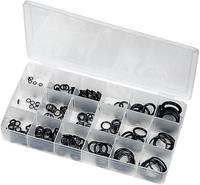 O gyűrű, gumigyűrű készlet 225 részes dobozban Toolcraft 6212 TOOLCRAFT