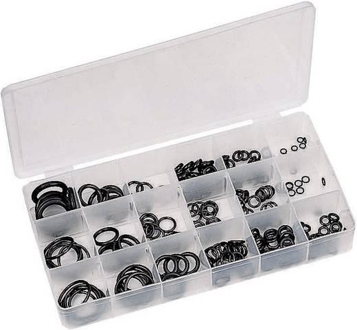 O gyűrű, gumigyűrű készlet 225 részes szortiment Toolcraft 6212