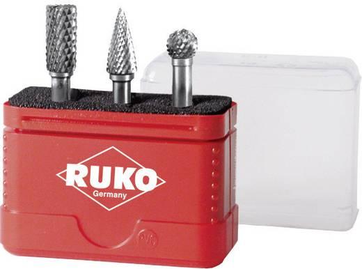 Keményfém maróstift, frézer készlet 3 részes 6mm-es szárral RUKO 116001