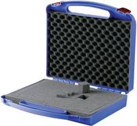 Müanyag koffer, műszerkoffer hullámos habszivacs betéttel, 340 x 310 x 80 mm (821406) Licefa