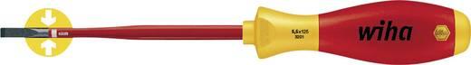 VDE egyenes csavarhúzó, penge: 5,5 x 125 mm, DIN 7437, DIN 5264, DIN ISO 2380, Wiha SoftFinish 35391