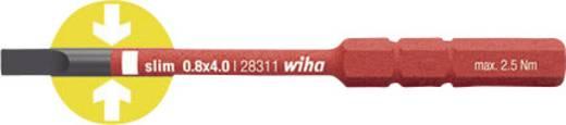 Wiha VDE 6,5mm-es cserélhető, egyenes pengéjű lapos szigetelt csavarhúzószár