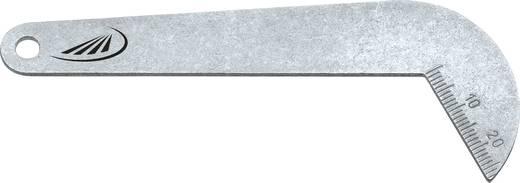 Spirálfúró, csigafúró szögkaliber, köszörülés ellenőrző Helios Preisser 0590 101