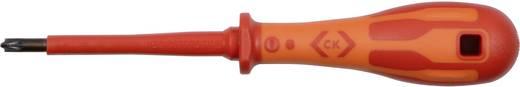 VDE Plusz/mínusz csavarhúzó C.K. Méret: SL/PZ 1 Penge hossz: 80 mm