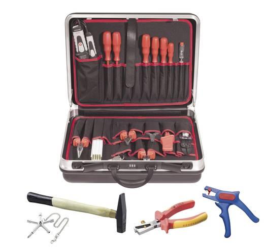 Villanyszerelő szerszámkészlet, 21 részes szerszámkészlettel Toolcraft 821611