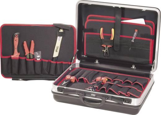 Villanyszerelő szerszámos koffer, 21 részes, TOOLCRAFT