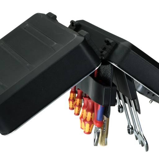 PARAT Cargo műanyag szerszámkoffer, fekete, 460 x 170 x 310 mm
