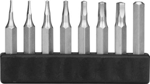 Hatlapú bit készlet, Hossz:28 mm