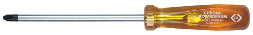 Műhely Kereszthornyú csavarhúzó C.K. PH 0 Penge hossz: 65 mm DIN ISO 8764