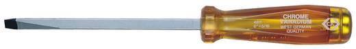 Egyenes pengéjű króm-vanádium csavarhúzó, pengeszélesség: 6 mm, penge hossz: 100 mm C.K. T4811 04