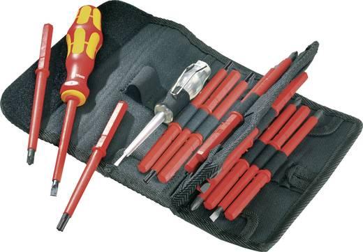 VDE cserélhető szárú csavarhúzó készlet, 17 részes, Wera Kraftform Kompakt 05 003474 001