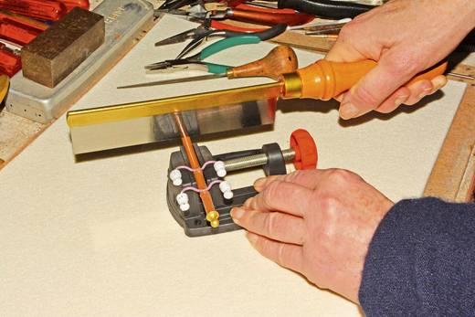 Asztalra szerelhető kisméretű satu, modellsatu 750-680