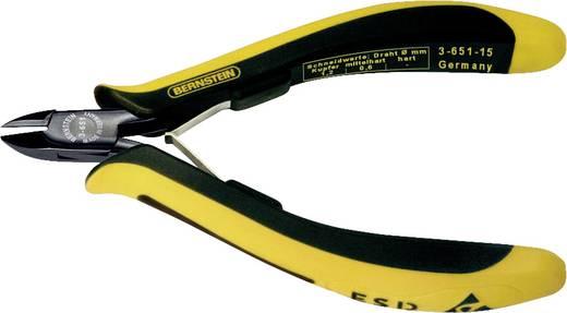 ESD mini oldalvágó, keskeny, legömbölyített fejjel, Bernstein EUROline-Conductive 3-651-15