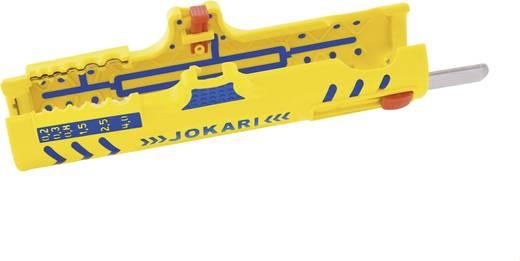 Jokari Secura No. 15 kábelcsupaszoló, blankoló, hengeres kábel 8 - 13 mm Ø, pl.. NYM 3 x 1,5 - 5 x 2,5 mm², 30155