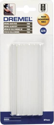 DREMEL GG01 Többfunkciós, magas hőmérsékletű ragasztórúd 7 mm, 12 db, 2615GG01JA