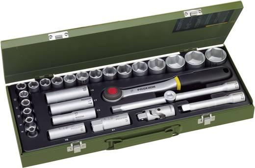 """Proxxon 23000 29részes ipari dugókulcs készlet, racsnis krova készlet 12,5mm (1/2"""")"""
