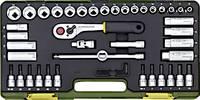Proxxon 23282 Racsnis szerszámkészlet, Krova BIT készlet 44 részes 10 mm (3/8) Proxxon Industrial