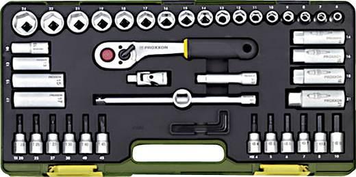 Proxxon 23282 Racsnis szerszámkészlet, Krova BIT készlet 44 részes 10 mm (3/8)
