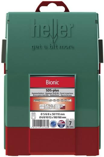 Ütvefúró készlet, Bionic® SDS-plus, 7 részes