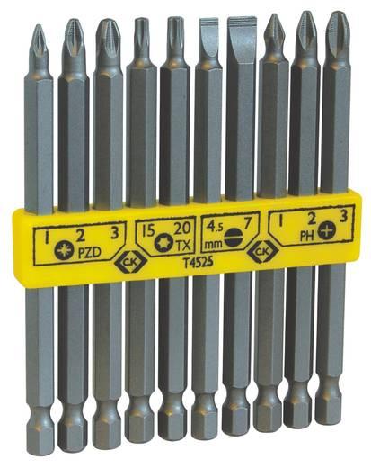 C.K. T4525 Csavarhúzó bits készlet 10 részes, vegyes hosszúság