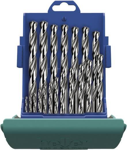 HSS spirálfúró készlet, 25 részes, DIN 338, Heller 21964 8