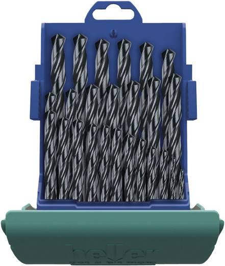 HSS spirálfúró készlet, 25 részes, DIN 338, Heller 18371 0