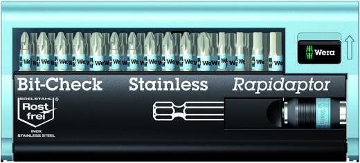 Wera 05071109001 30 részes Bit készlet, BC Stainless/30 Bit-Check