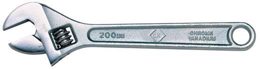 Franciakulcs 200 mm C.K. T4368 200 Beállítási tartomány 0 - 24 mm