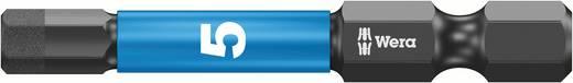 Wera 4013288157577 4,0 mm 6,3 mm (1/4) belső hatlap, alkalmas DIN 3126-D 6,3, ISO 1173 szerinti tartókhoz Hossz:50 mm