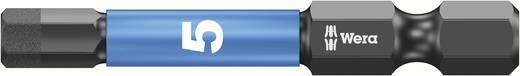Wera 05057645001 5,0 mm 6,3 mm (1/4) belső hatlap, alkalmas DIN 3126-D 6,3, ISO 1173 szerinti tartókhoz Hossz:50 mm