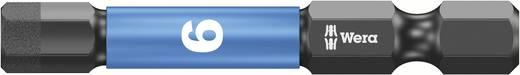 Wera 05057646001 6,0 mm 6,3 mm (1/4) belső hatlap, alkalmas DIN 3126-D 6,3, ISO 1173 szerinti tartókhoz Hossz:50 mm