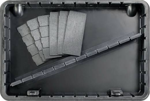 Elektronikai szervizkoffer, 82 részes, Bernstein Technik 6400