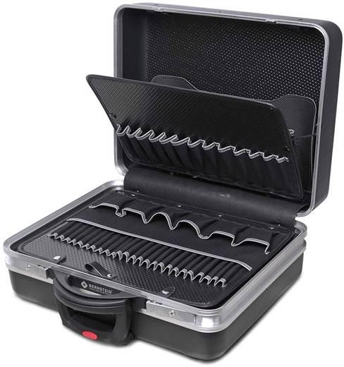 Elektronikai görgős szervizkoffer, üres, 500 x 400 x 200 mm, műanyag alu kerettel, Bernstein 7015