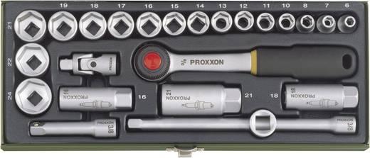 Proxxon 23110 Racsnis szerszámkészlet, Krova készlet 24 részes 10 mm (3/8)