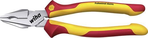 VDE kombinált fogó 200 mm, vágási érték: lágy/közepes/kemény huzal: 3,8/2,8/2,3 mm, Wiha Professional electric 26714