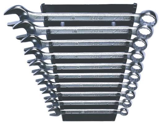 Gyűrűs villás kulcskészlet 10 részes Kulcstávolság 8 - 19 mm C.K. T4343M/10ST