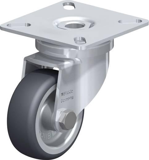Önbeálló gumigörgő Ø 50 mm csavarozható rögzítő lemezzel Blickle 346601