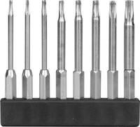 8 részes mini bit szortiment, T-profil hosszú kivitel, 45 mm, Donau MBS77 Donau Elektronik