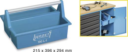 Műanyag hordtáska, (H x Sz x Ma) 215 x 396 x 294 mm, Hazet 190L-1