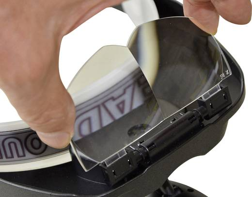 RoNa 450416 tartalék nagyító lencse, nagyítós szemüvegbe 2,5 x
