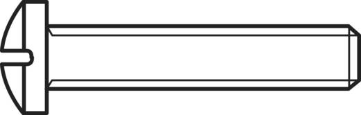 Lencsefejű csavarok, DIN7985 M3 X 25, 100 részes